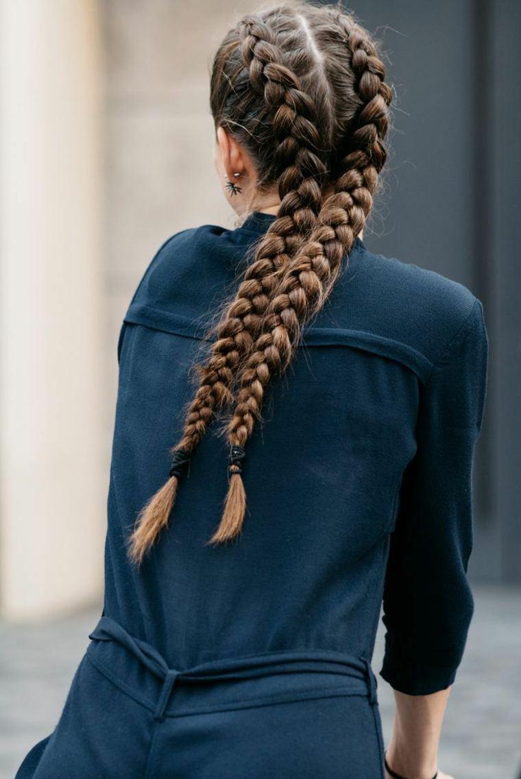 peinados con trenzas paso a paso-faciles