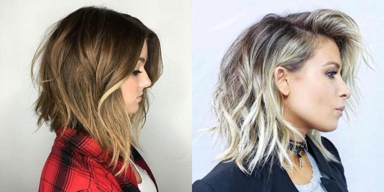 peinados de pelo largo-cabello-bob