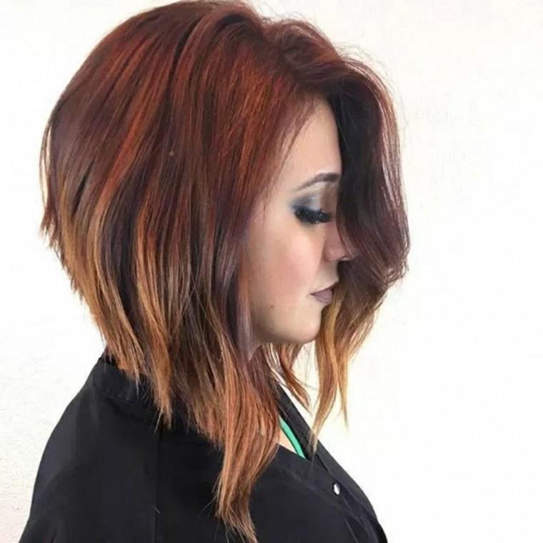 peinados de pelo largo-mujeres-estilo-bob