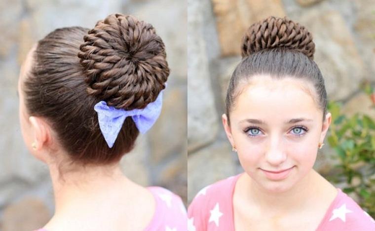 peinados-para-ninas-cabello-largo-mono