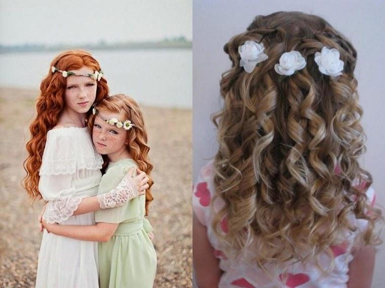 peinados-para-ninas-cabello-largo-ondulado