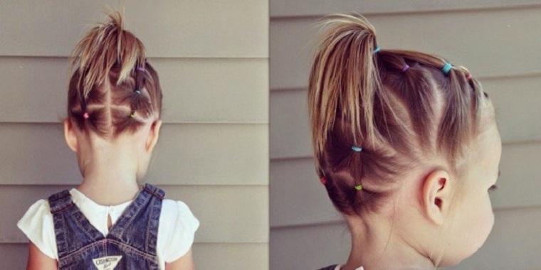 peinados para nina hermosos-trenzas