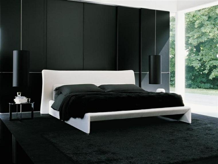 pintura para interiores-modernos-negro