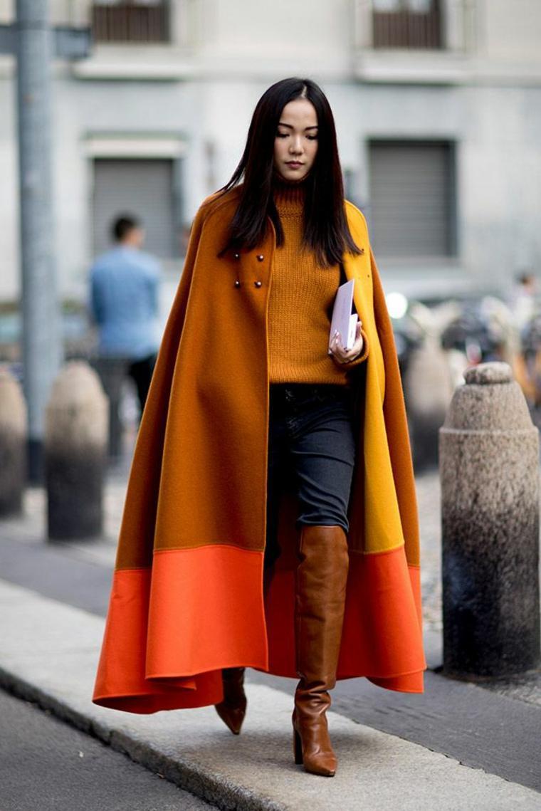 abrigo tonos calidos