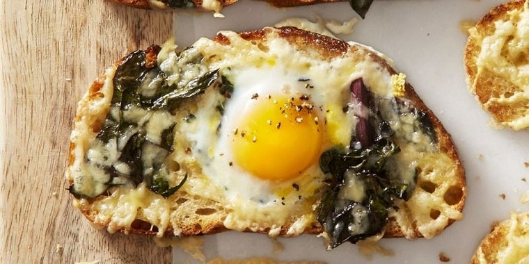 recetas comida rapida-huevos-ideas-pan-ideas