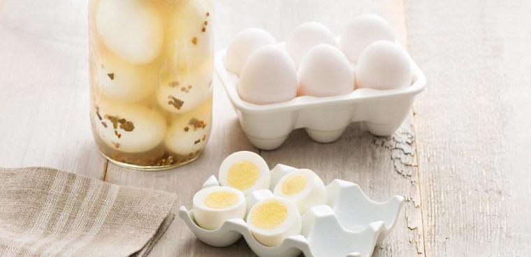 recetas comida rapida-huevos-marinados