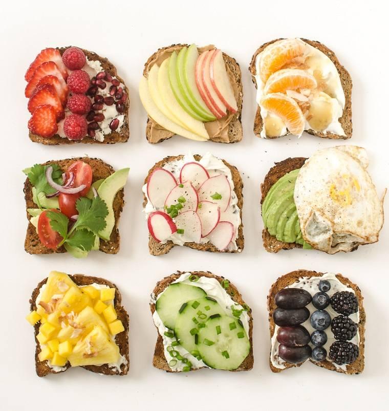 recetas-para-desayunos-tostadas-opciones