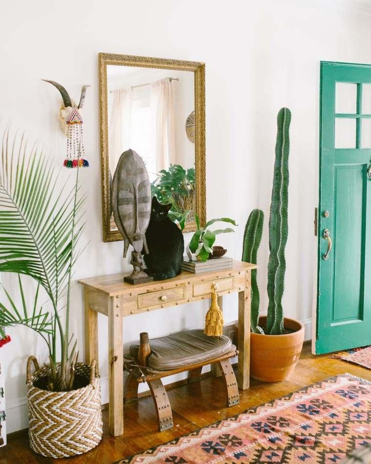 Home Design Ideas Pinterest: Recibidores Modernos, Ideas De Decoración Al Estilo Bohemio