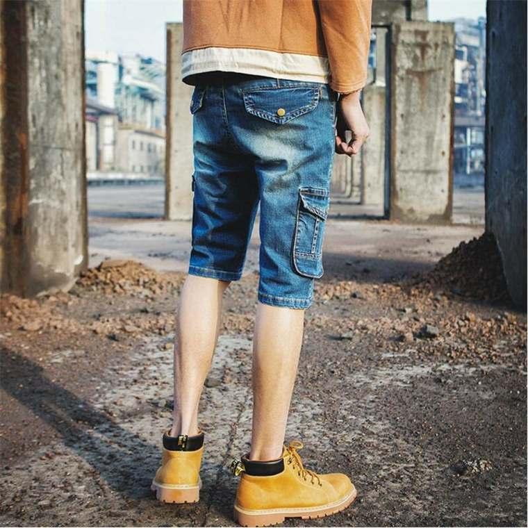 ropa casual para hombre-vaqueros-cortos