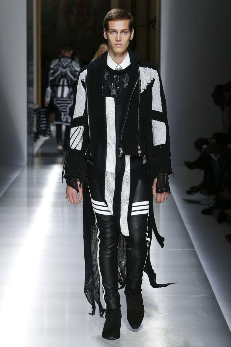 ropa-de-moda-para-hombre-chaqueta-cuero-blanco-negro