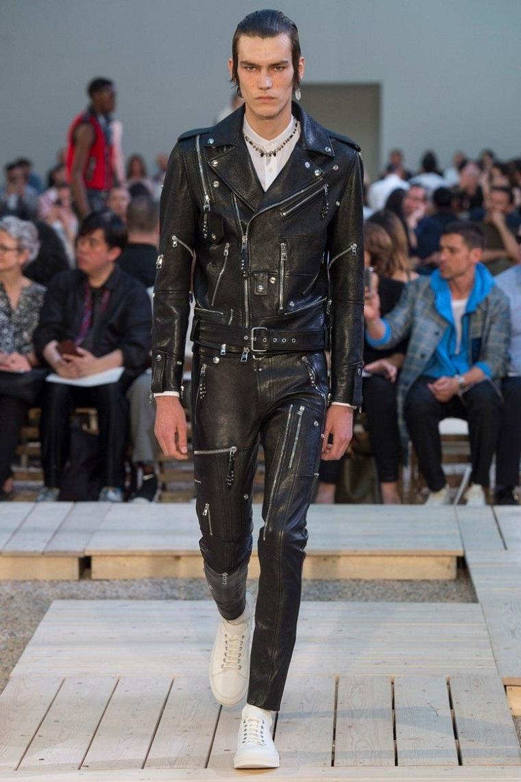 ropa-de-moda-para-hombre-chaqueta-pantalon-cremalleras