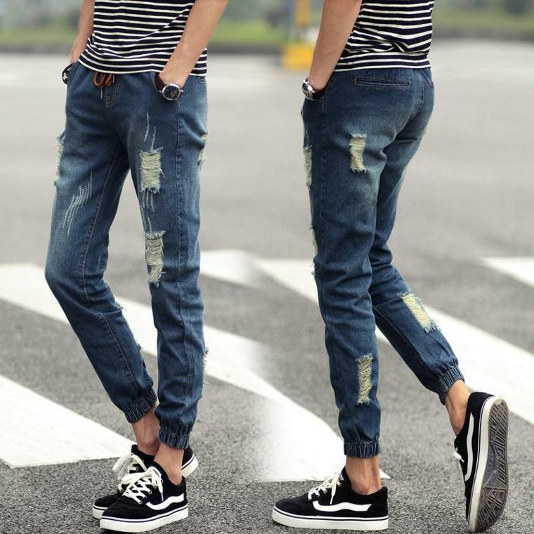 ropa de moda para hombre-pantalones