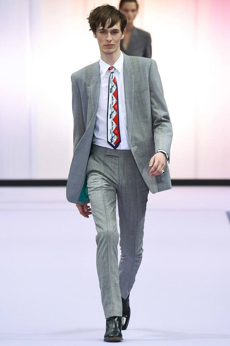 ropa de moda para hombre-tendencias-traje-gris