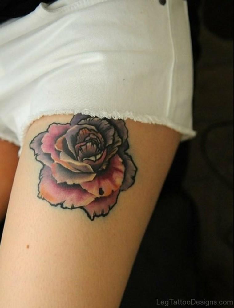 tattoo de flor