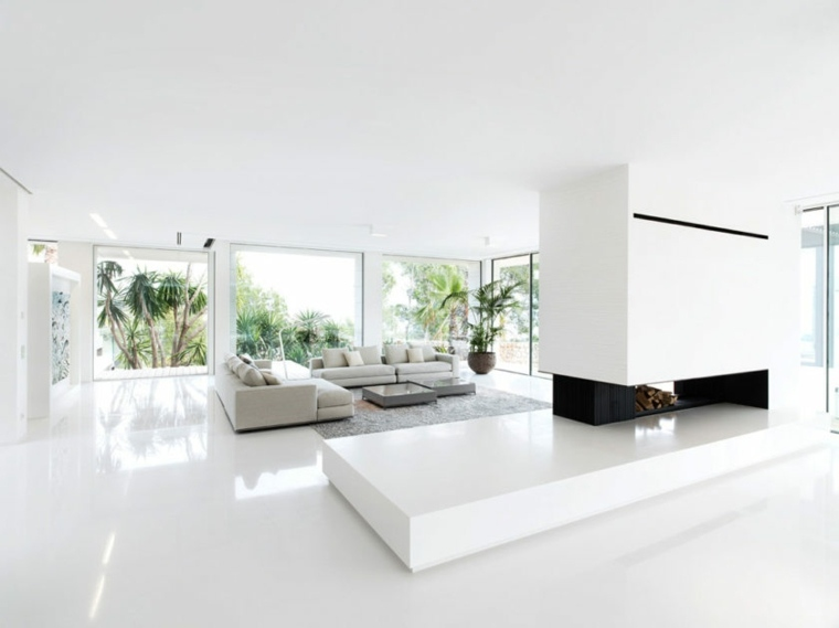 sala moderna-estilo-minimalista