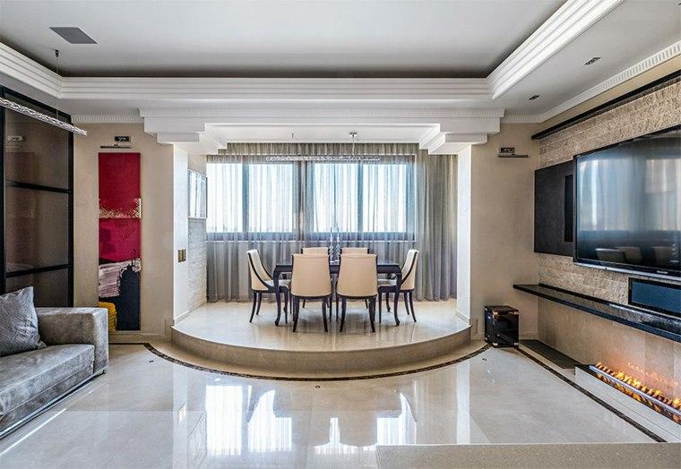 salas decoradas-escalones-modernos