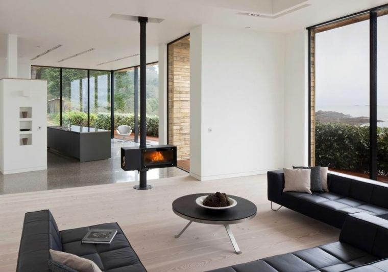 salas minimalistas-caracteristicas-estilo