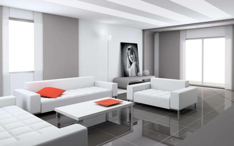 salas minimalistas-modernas-blanco