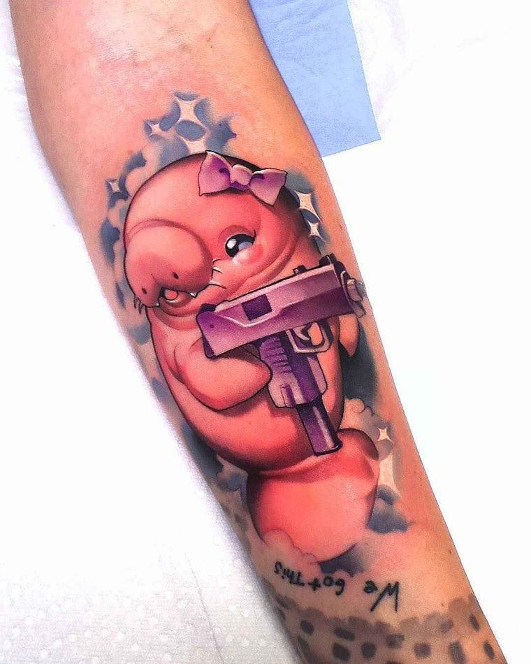 tatuajes-elegantes-tendencias-estilo-moderno-nueva-escuela-bellos