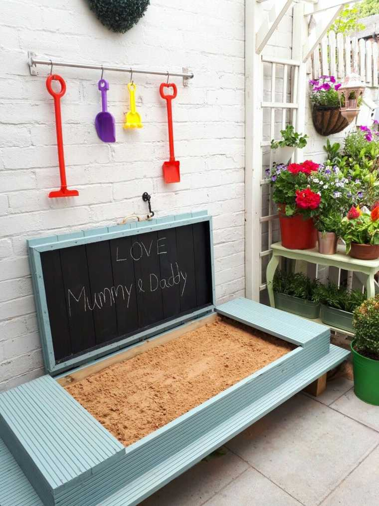 construir un parque infantil en el jardin