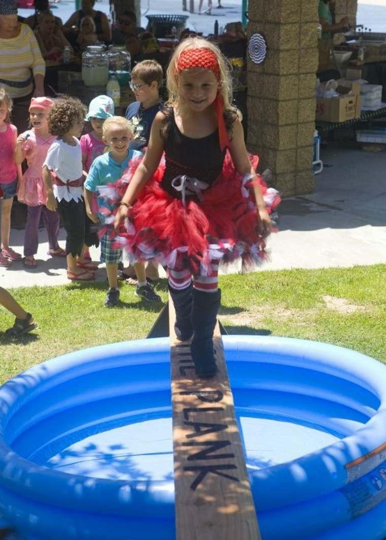 Una fiesta pirata con piscina
