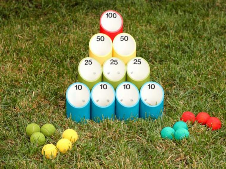 lanzamientos de bolas