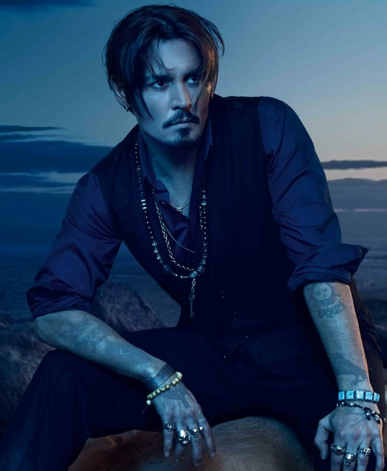 Johnny Depp anuncio