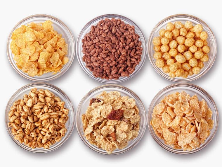 alimentos con fibra cereales