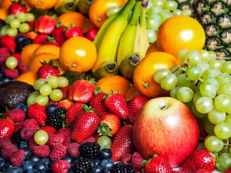 alimentos con fibra frutas