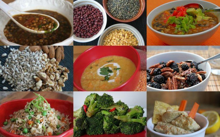 alimentos con fibra ideas