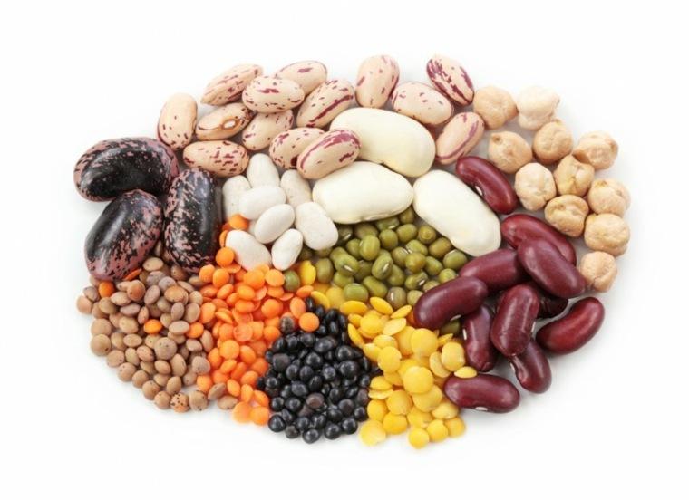 alimentos con fibra legumbres