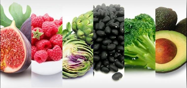alimentos-con-fibra-varios