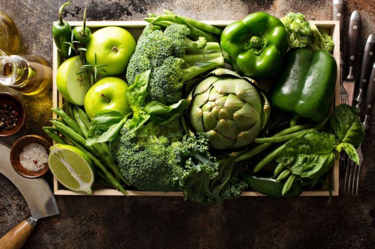 alimentos-con-fibra-verdes