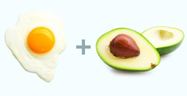 alimentos huevos-aguacate