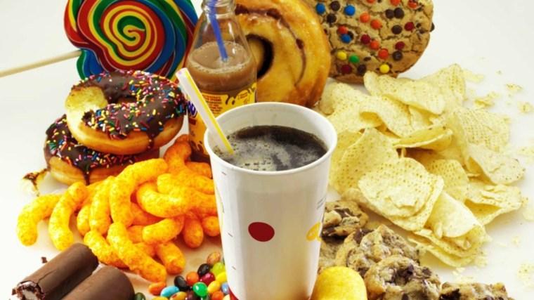 alimentos nutritivos-comida-basura