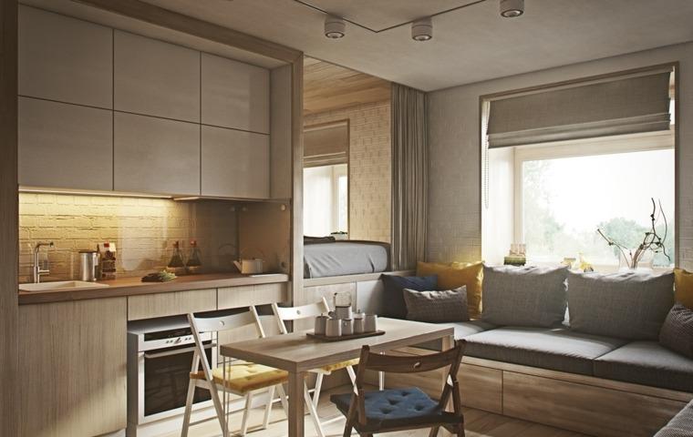 apartamentos-pequenos-estilo-cocina