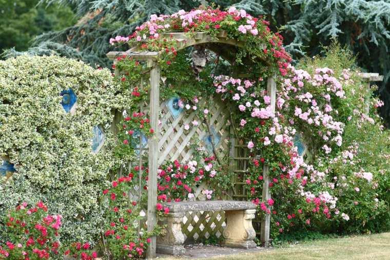 jardín de cuento de hadas