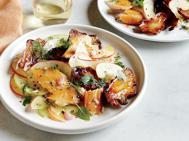 beneficios del vinagre de manzana-salsa