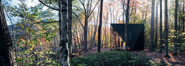 cabaña cristal en-la-naturaleza