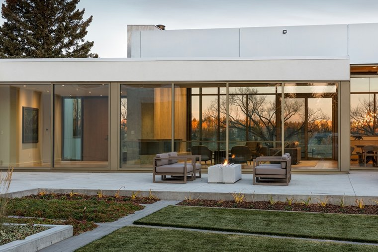 casa-diseno-jardin-moderno-Shugarman-Architecture-Design-Inc