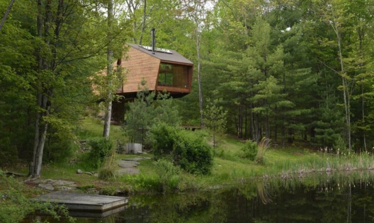 casa en arbol variante moderna