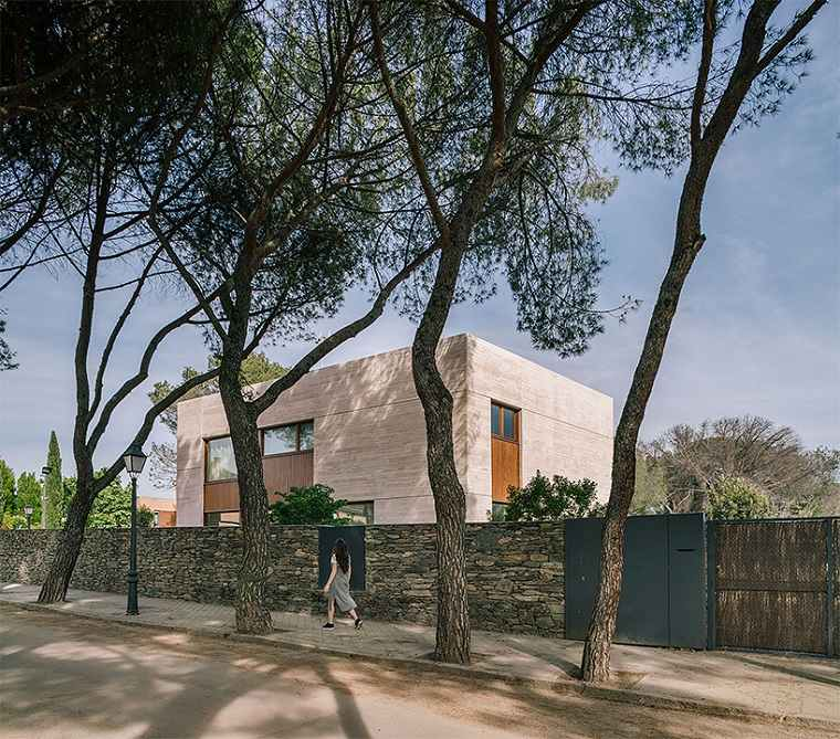 casa moderna diseño natural