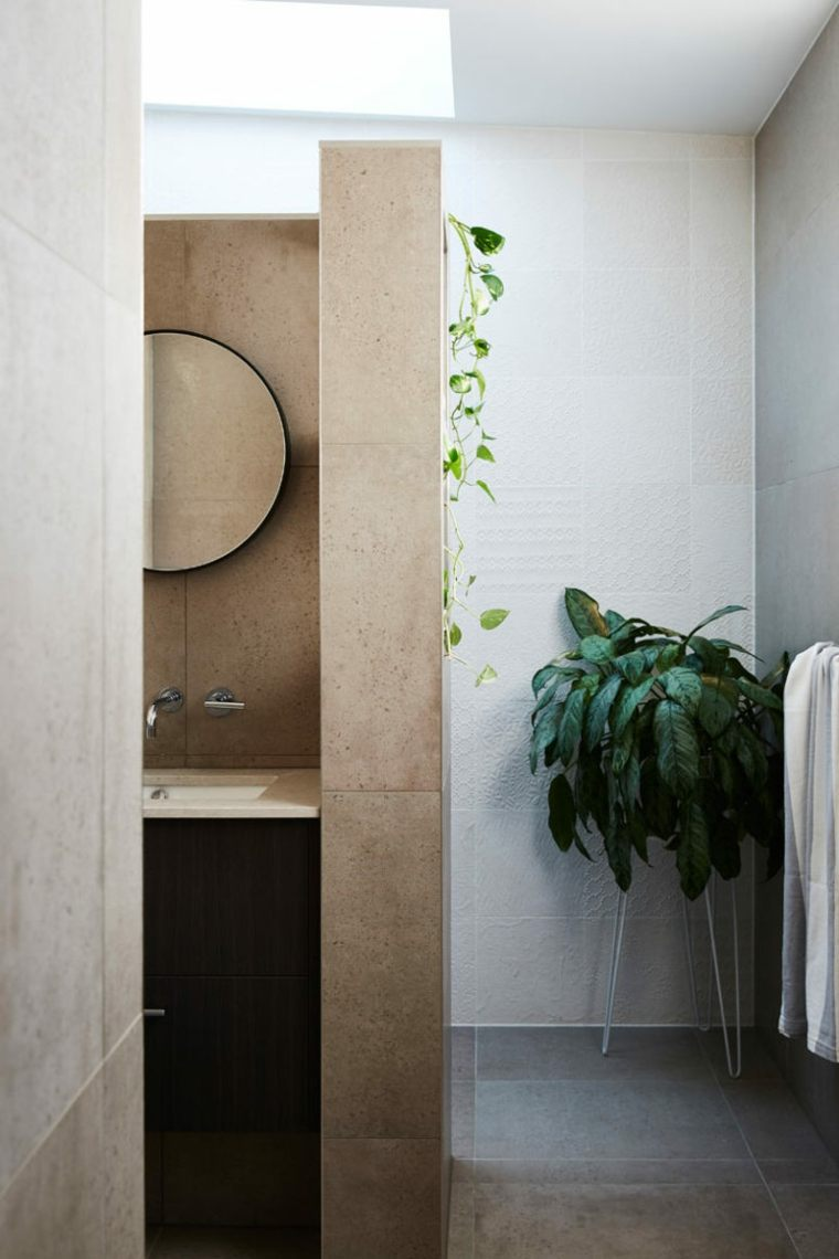 casas modernas baño