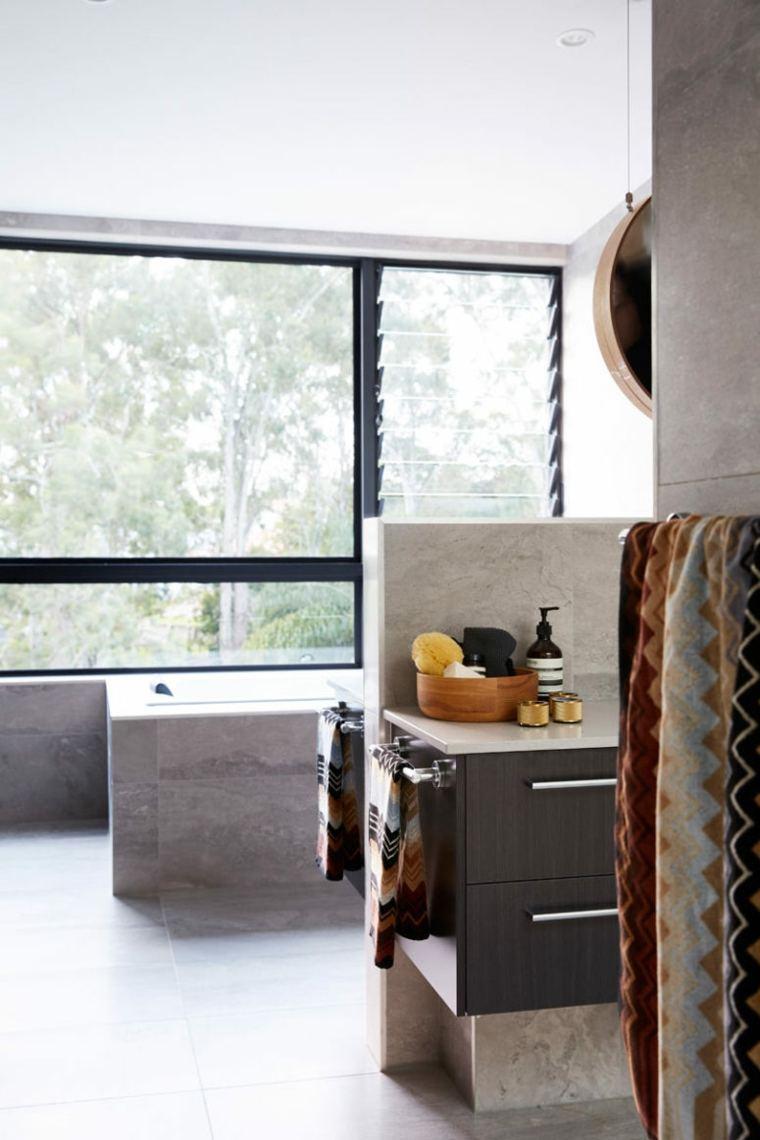 casas modernas cocina-con-vista
