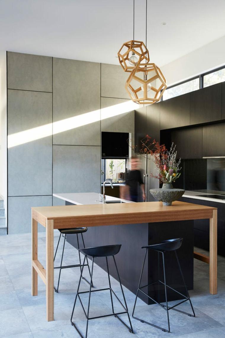 casas modernas cocina