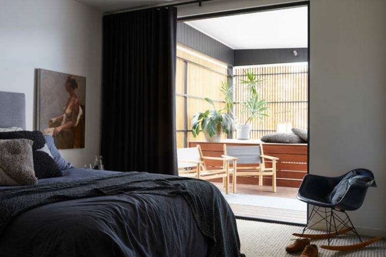 casas modernas dormitorio