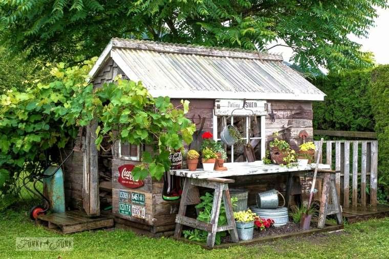 casita de jardinería