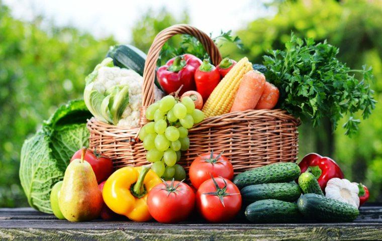 cesta-con frutas y verduras