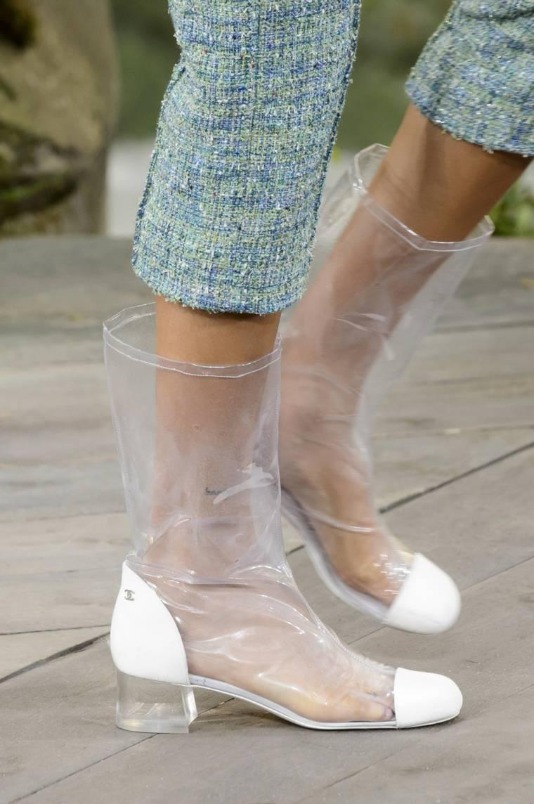 botas chanel verano