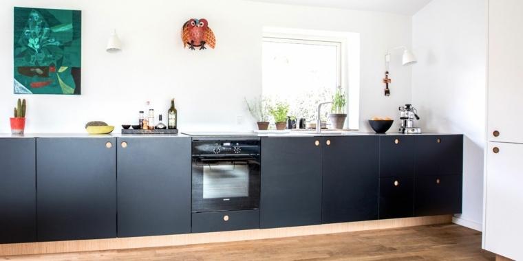cocina-blanco-negro-diseno-opciones